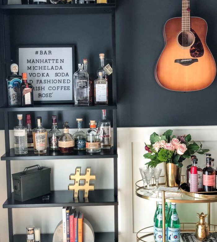 The Art of Styling a Bar Cart